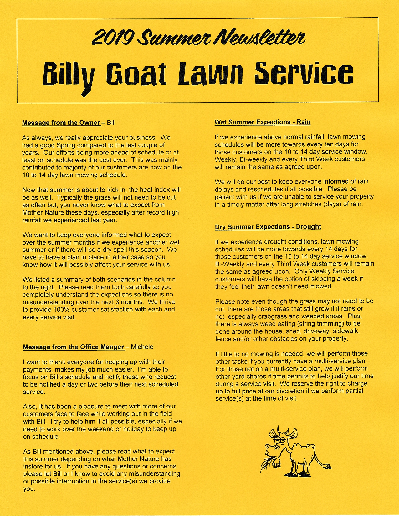 Billy Goat Lawn Service | Glen Burnie, Maryland | 410-975-8389